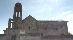 One of the first church of the world ever cappadocia turkey Stock Footage