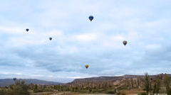 Cappadocia turkey nature baloon fly fairy chimney miracle holiday tourism 1 Stock Footage