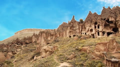 Cappadocia turkey nature fairy chimney miracle holiday tourism 8 Stock Footage