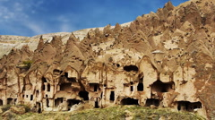 Cappadocia turkey nature fairy chimney miracle holiday tourism 9 - stock footage