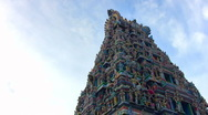 Stock Video Footage of Hindu Temple