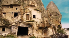 Cappadocia turkey nature fairy chimney miracle holiday tourism 14 Stock Footage