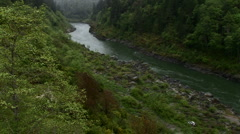 River valley Stock Footage