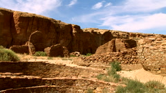 Chaco Canyon, New Mexico Stock Footage