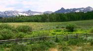 Colorado scenic Stock Footage