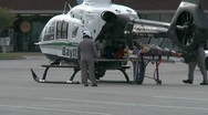 Stock Video Footage of Bayflite loading patient