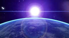 3d Earth Animation 21 Stock Footage