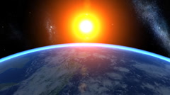 3d Earth Animation 22 Stock Footage