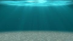 HD - Deep water. Underwater background - stock footage