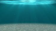 HD - Deep water. Underwater background Stock Footage