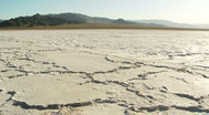Stock Video Footage of Salt Flat