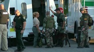 Stock Video Footage of swat team and bomb squad