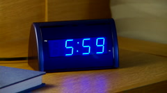 Alarm  clock - stock footage