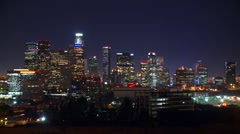 Downtown, LA Skyline  Stock Footage