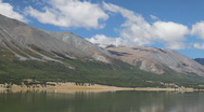 Stock Video Footage of Mountain lake Khoton Nuur in Mongolian Altai