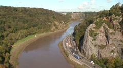 Clifton Gorge Stock Footage
