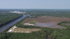 North Carolina Intercoastal Aerial Stock Footage