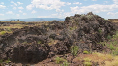 Volcanic Rock Formation - stock footage