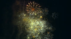 Stock Video Footage of Fourth Of July Fireworks