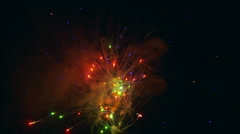 Fourth Of July Fireworks - stock footage