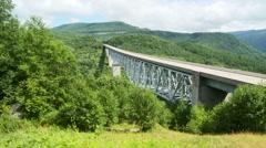 Hoffstadt Creek Bridge Stock Footage