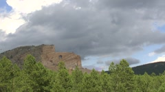 Crazy Horse Monument  - stock footage