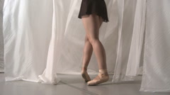 Backstage Ballet - stock footage
