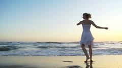 Beach Ballet - stock footage