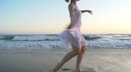 Beach Ballet Stock Footage