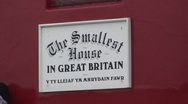 Stock Video Footage of Britain's Smallest House