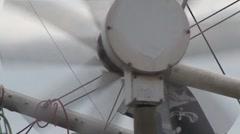 Wind Turbine on Boat Stock Footage