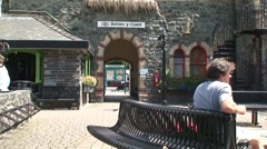 Betws-y-Coed Train Station Stock Footage