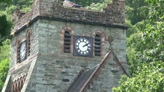 Church in Betws-y-Coed Stock Footage