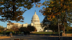 Capitol Building 01 HD Stock Footage