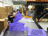 Assembly Line Workers Stock Footage