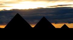 Pyramides 04 Stock Footage