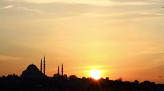 Suleymaniye Mosque - stock footage