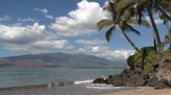Beach Maui,Hawaii Stock Footage
