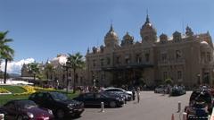 Monte Carlo Casino Square - stock footage
