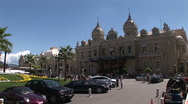 Stock Video Footage of Monte Carlo Casino Square