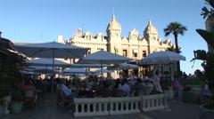 Monte Carlo Casino Square - 2 Stock Footage