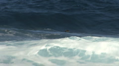 Hawaii A surfer waiting for waves  Stock Footage