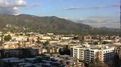 CA Burbank view  Stock Footage
