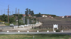 Temecula vineyards Stock Footage