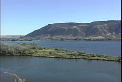 Columbia River and Okanogan Stock Footage