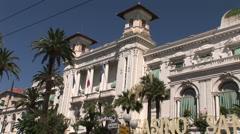San Remo Casino Stock Footage