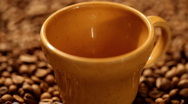 Pouring coffee Stock Footage