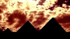 Pyramides 03 Stock Footage