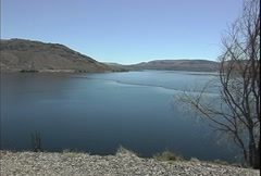 FDR Lake at Grand Coulee Dam  Stock Footage