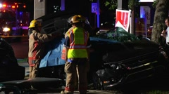 Fatal Crash Killing Family Of 4 SPFR#10 - stock footage